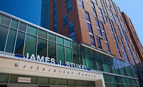 Off Campus Accommodations Chicago Marriott At Medical District UIC 625 S Ashland Avenue Harrison Street